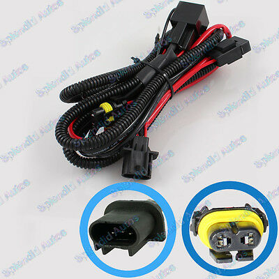 Xenon HID Conversion Kit Dual-Relay Wiring Harness for Hi/Lo  H13 9008
