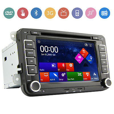"""XMAS Sale 7"""" Car DVD Player For VW VOLKSWAGEN GPS Navigation Radio Stereo Canbus"""