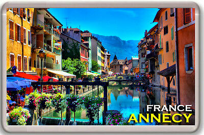 Annecy France Fridge Magnet Souvenir Iman Nevera