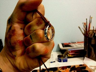 UNCHARTED ring of Nathan Drake made sterling silver 925- artisan production