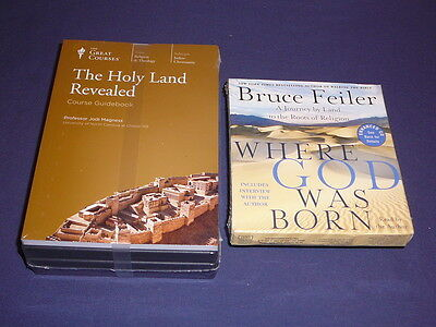 Teaching Co Great Courses  CDs        THE  HOLY LAND REVEALED       new + BONUS
