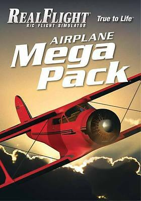 RealFlight R/C Flight Simulator Airplane Mega Pack - Adds over 35 Planes!