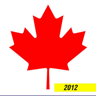 CANADA 2012 STAMP ALBUM PAGES  (19 pages)