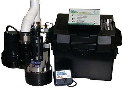 Basement Watchdog BW4000 Big Combination Sump Pump System, Primary & Back Up