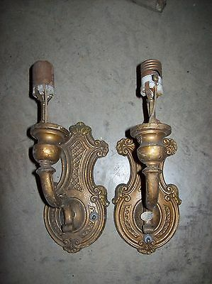 pair matching sconces single arm  (LT 22)