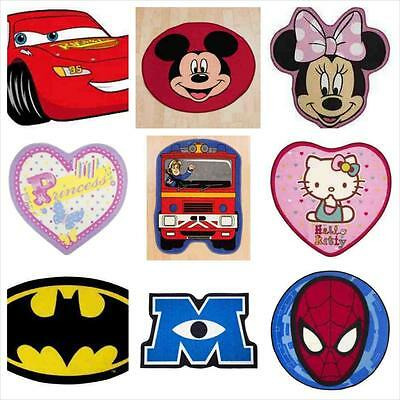 Kids Rugs Children's Disney Mat 100% Officially Licensed over 12 designs