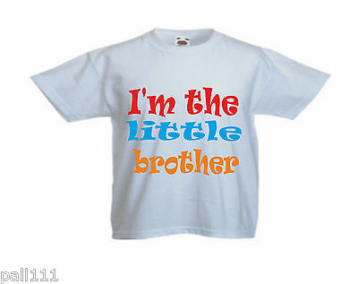 FANTASTIC FUNNY T SHIRT ALL SIZES AND COLOU I/'M GOING TO BE A BIG BROTHER