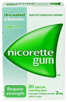 Nicorette Craving Control 2mg Chewing Gum 30 Pieces Classic Sugar Free
