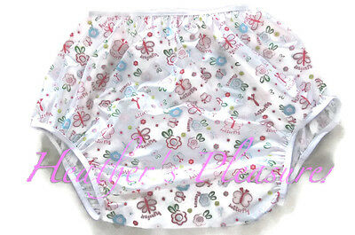 Adult Baby Sissy Waterproof Noisy Plastic Pants Diaper Cover Nappy + Free S&H