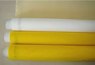 3 Yards 200 Mesh Count Silk Screen Printing Mesh Fabric Polyester White Material