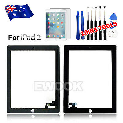 OZ Replacement Digitizer Touch Screen Glass For the ipad 2 A1395 A1396 A1397