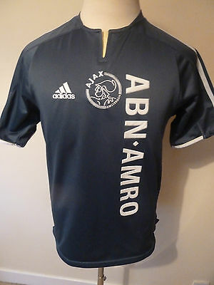 mens vintage AJAX ( IBRAHIMOVIC ) away shirt - sz small ( 2003 ) good condition