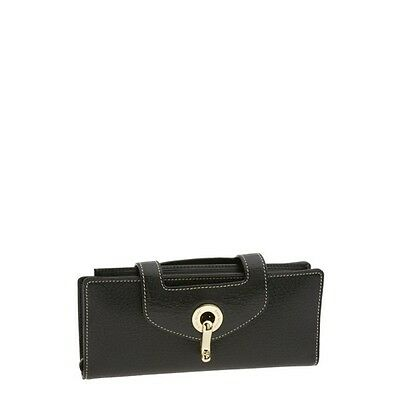 NWT kate spade new york tarrytown dominique black leather wristlet wallet