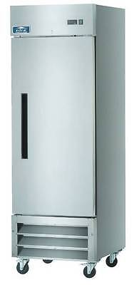 Arctic Air AF23 23cf 1 Door Stainless Steel Commercial Reach-In Freezer NEW!!