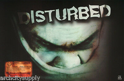 Poster : Music:   Disturbed -           Free Shipping  #6213  Rc18 J