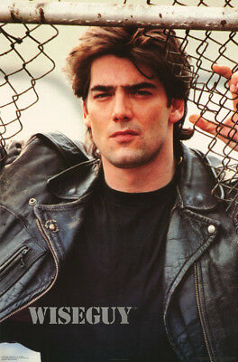 Poster : Tv: Wiseguy - Ken Wahl As Vinnie Terranova - Free Shipping !   Rc39 A