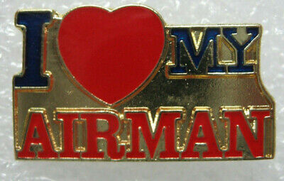 United states Air Force lapel pin Very nice (I LOVE MY AIRMAN)  New