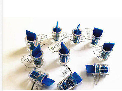 10pcs Plastic Security Seal Water/Electric meter container tamper seals