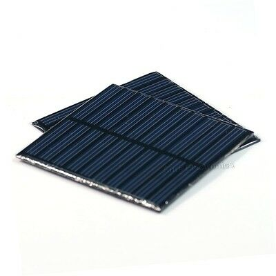 2pcs 5V 150mA Total Solar Panel Power Cell For Charger 750mW 1.5W 93x83mm