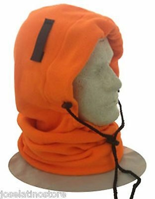 OccuNomix  3 in 1 Fleece Balaclava Winter Liner Hi Viz Orange Color