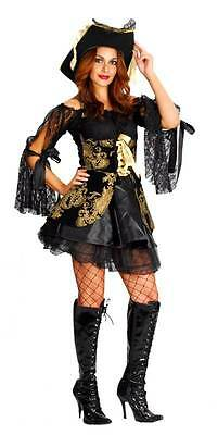 Adult Costume: Buccaneer Pirate Lady