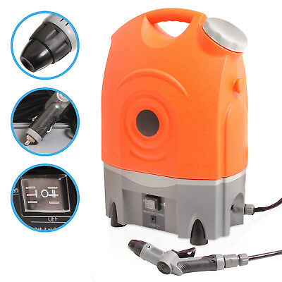 17 Litre 12V Rechargeable Portable Car Home Pressure Washer Jet Wash Cleaner Kit