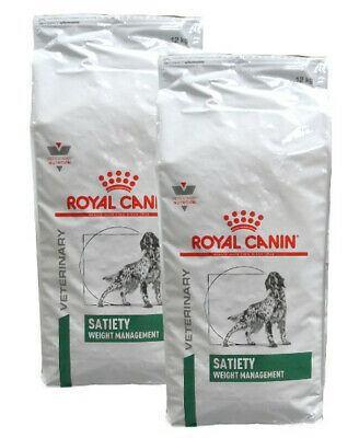 2x12kg Royal Canin Satiety Weight Management Veterinary Diet Hundefutter