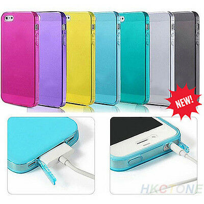 Dustproof Soft Silicone TPU Matte Case CoverSkin for Apple iPhone 4 4S 4G B52U