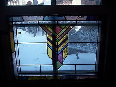 3 available Arts an crafts colorful stained glass window  (SG 1547)