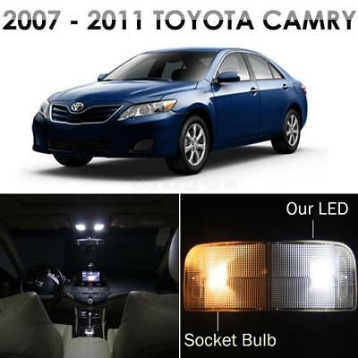 12x  Lights LED Interior Package Bulb for 2007-2011 Toyota Camry with Sunroof