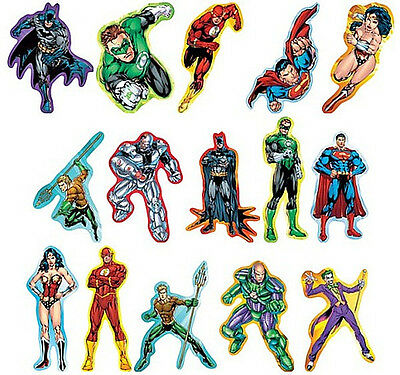 Justice League America Decal Stickers DC Comics Licensed Choose your item