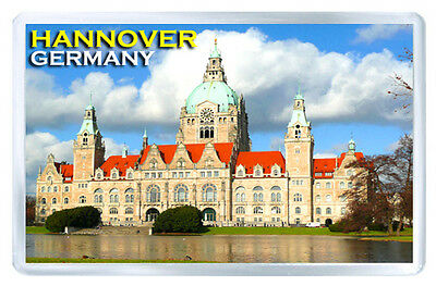 Hannover Germany Fridge Magnet Souvenir Iman Nevera