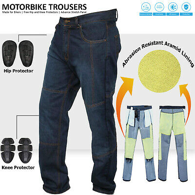 Motorbike Motorcycle ArmoursTrousers Pants Jeans Reinforced With Aramid Fibres