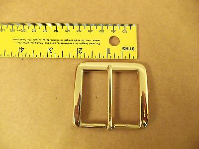 "1 3/4"" Solid Brass End Bar (Heel) Buckle (Pack Of 2)"