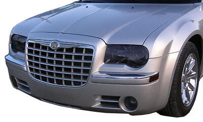 05-10 300 300c V8 smoked tinted HEADLIGHTS fogs turns covers vinyl *$5 REFUND*