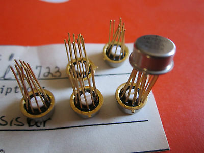 UA723HC FAIRCHILD Positive Adjustable Voltage Regulator 10pin Gold leads 1 piece