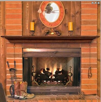 Pearl Mantel Homestead Fireplace Shelf Pick Size Finish Or As Tv