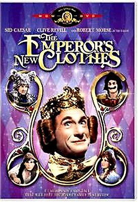 The Emperor's New Clothes(USED FAMILY DVD)SID CAESAR,ROBERT MORSE
