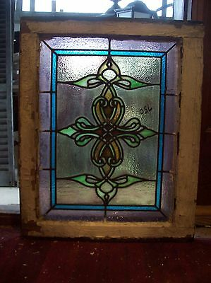 Cool Stained glass pointy window  (SG 1594)