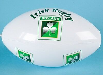 16'' Inflatable Rugby Ball - St Patrick's Day (MI224)