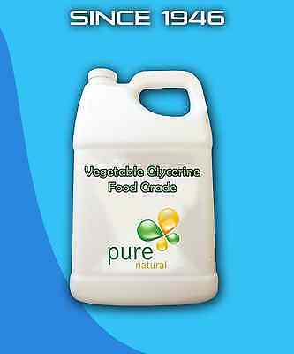 Glycerine 1 Gallon Pure Vegetable Glycerin Food Grade Soap Crafts FREE SHIPPING!