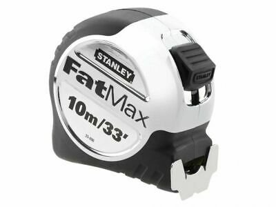 Stanley FatMax Tape Measure 10m/33ft 5-33-896 + PENCIL