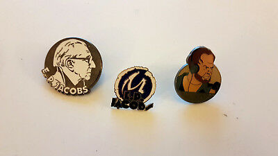 Eo Corner + P.biermé Superpe Lot 3 Pin's Edgar Pierre Jacobs & Blake & Mortimer