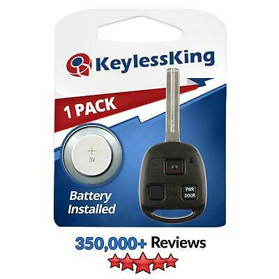 New Uncut Ignition Master Key Keyless Entry Remote Head Fob Power Gate