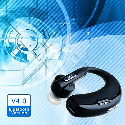 Wireless Bluetooth4.0 Hands-free Stereo Earphone Headset for Galaxy Note 2 3 4