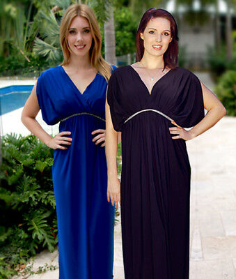 Maternity Evening Dress Maternity Gown Party Baby Shower Wedding Pregnancy Black