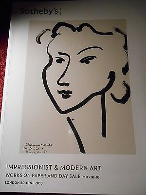 Sotheby's Impressionist & Modern Art Works on Paper and Day Sale 2013 new