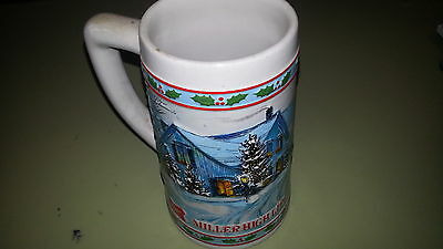 Miller High Life Holiday Beer Stein