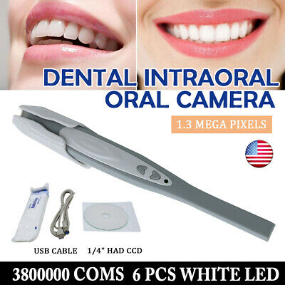 Intraoral Oral Camera with Anti-fog Non-spherical Lens USB MD-740B NEW