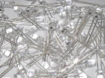 20 pieces 5mm Clear IR (InfraRed) 850nm LED